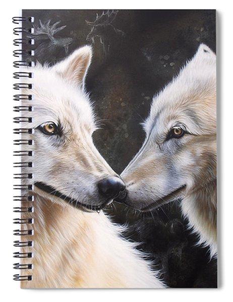 White Magic Spiral Notebook