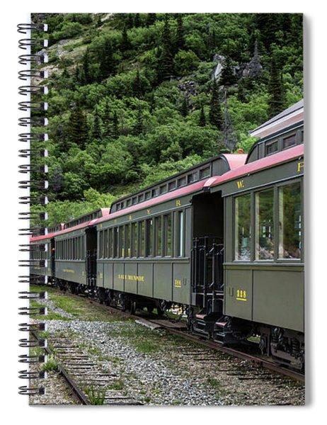 White Pass And Yukon Railway Spiral Notebook