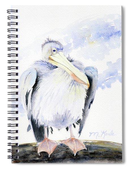 White Pelican Spiral Notebook