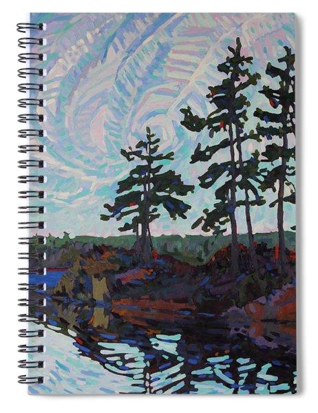White Pine Island Spiral Notebook