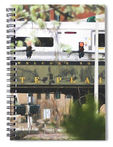 White Plains Train Station Spiral Notebook