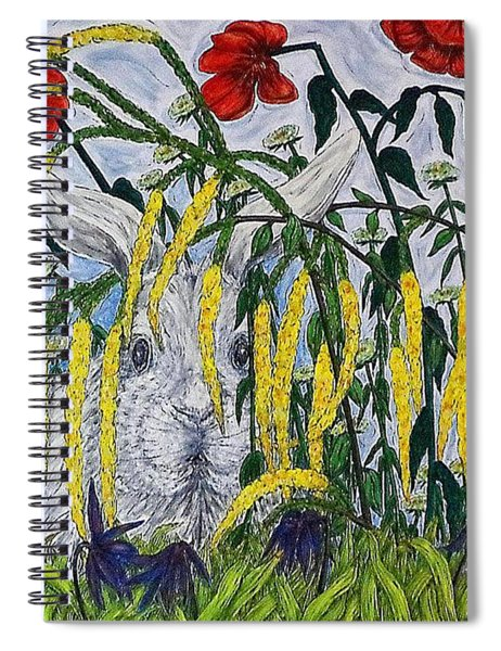 White Rabbit Spiral Notebook