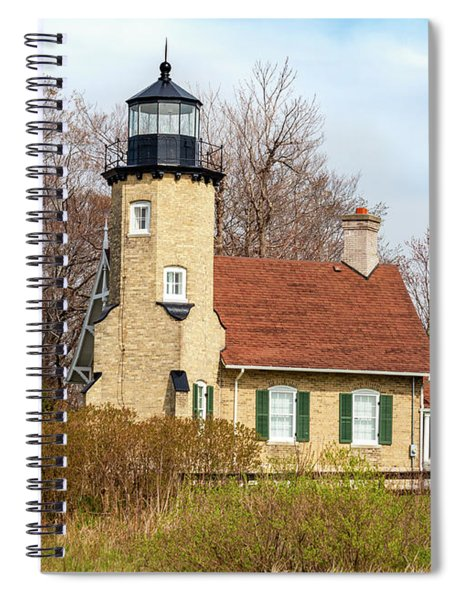 White River Lighthouse Spiral Notebook