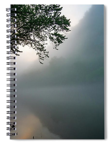 White River Morning Spiral Notebook