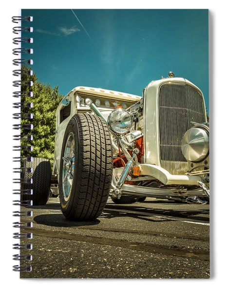 White Rod Spiral Notebook