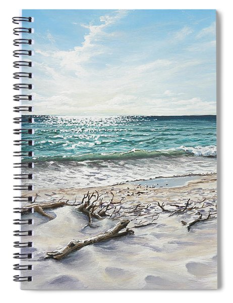 White Sands Of Tiger Tail Spiral Notebook