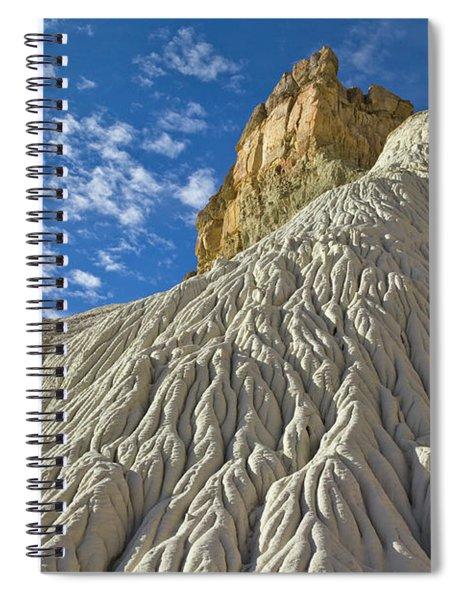 White Sandstone Grand Staircase Spiral Notebook by Yva Momatiuk John Eastcott