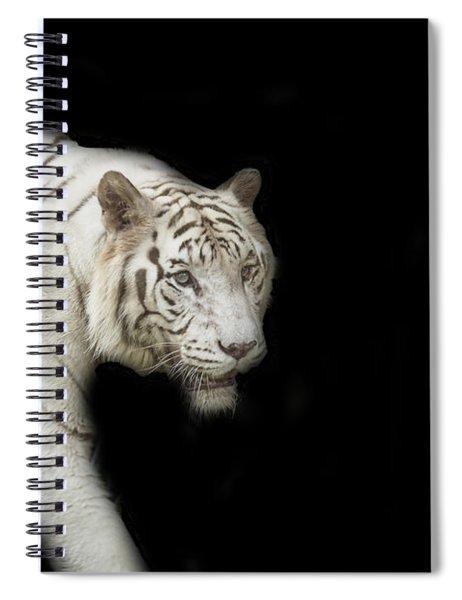 White Tiger Spiral Notebook
