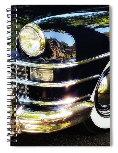White Walls Spiral Notebook