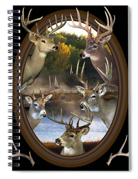 Whitetail Dreams Spiral Notebook