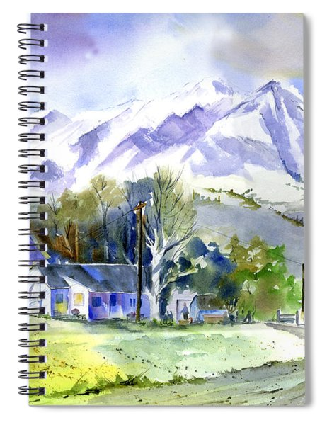 Whitney's White House Ranch Spiral Notebook