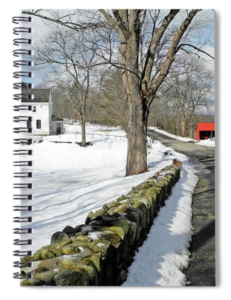 Whittier Birthplace Spiral Notebook