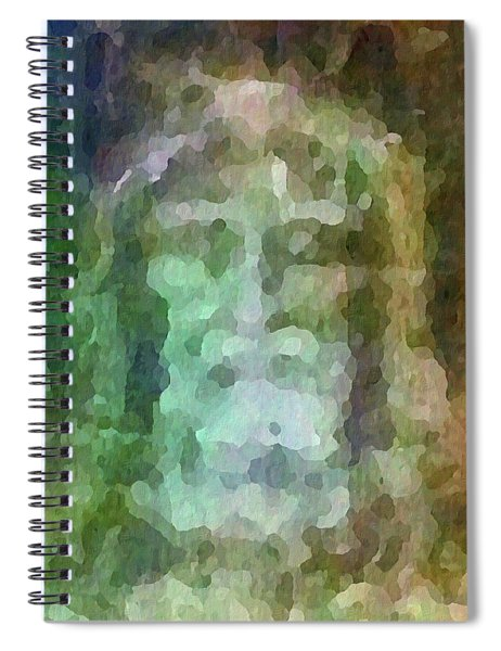 Who Do Men Say That I Am - The Shroud Spiral Notebook
