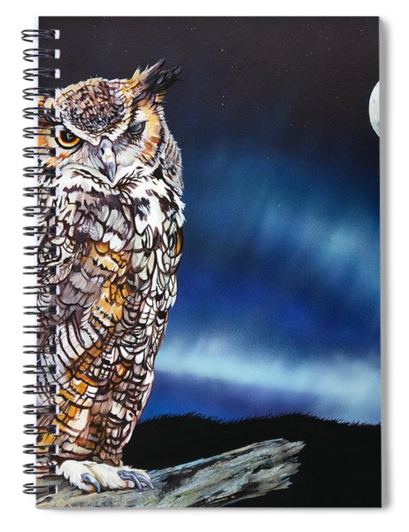 Who Doesn't Love The Night Spiral Notebook
