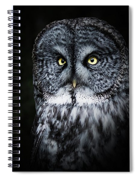 Whooo Are You Looking At? Spiral Notebook