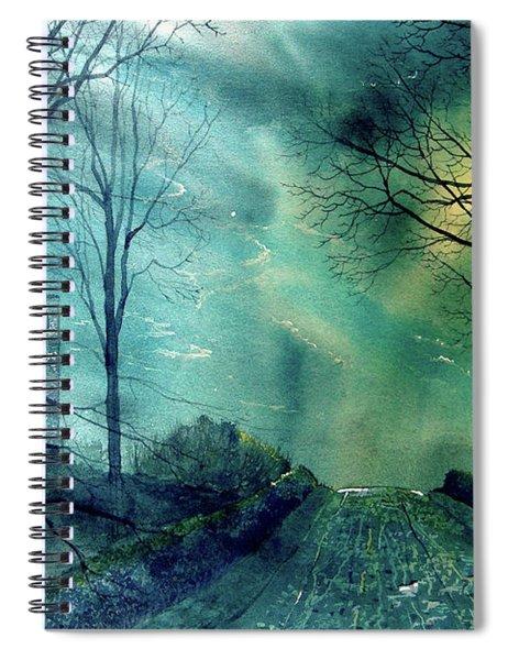 Whorlton Castle Spiral Notebook