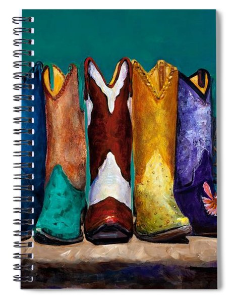 Why Real Men Want To Be Cowboys 2 Spiral Notebook