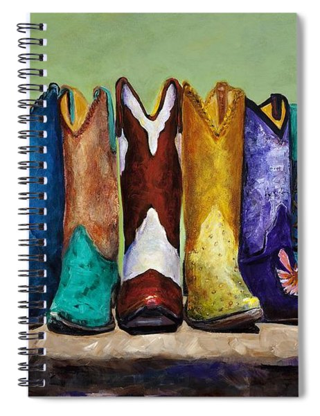 Why Real Men Want To Be Cowboys Spiral Notebook