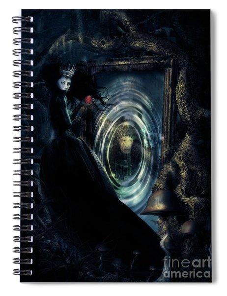 Wicked Queen Spiral Notebook