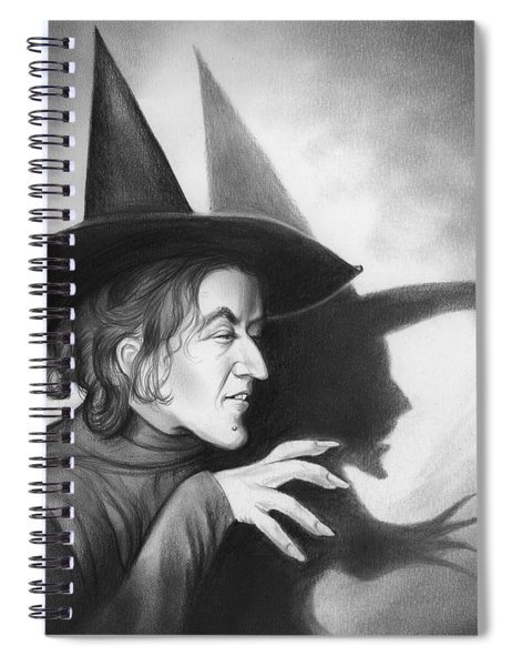 Wicked Witch Of The West Spiral Notebook