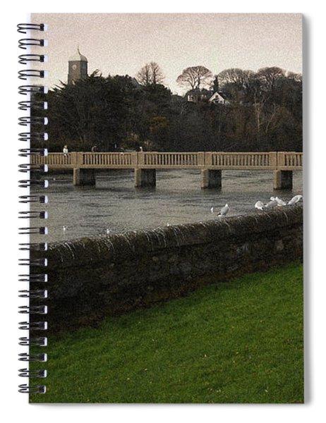 Wicklow Footbridge Spiral Notebook