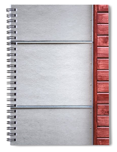 Wide And Narrow Lines Spiral Notebook