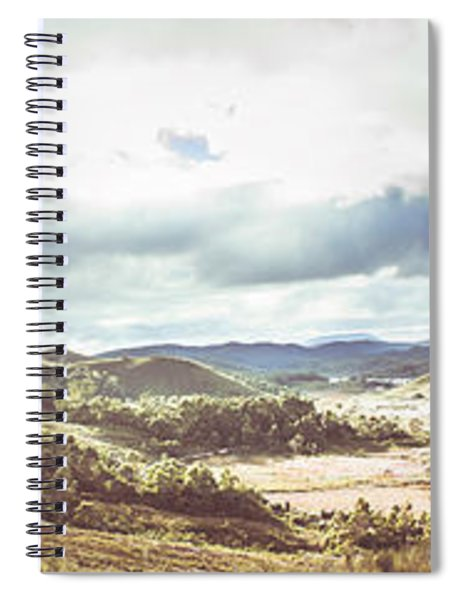 Wide Open Country Australia Spiral Notebook