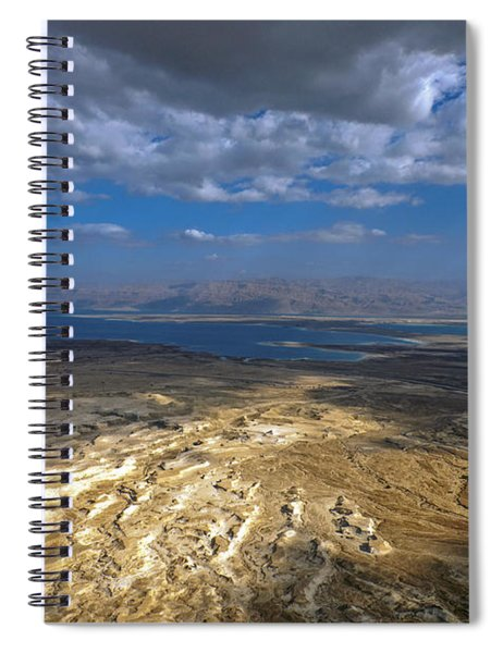 Wide View From Masada Spiral Notebook