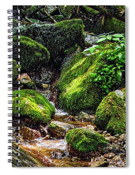 Wigwam Falls Hdr Spiral Notebook