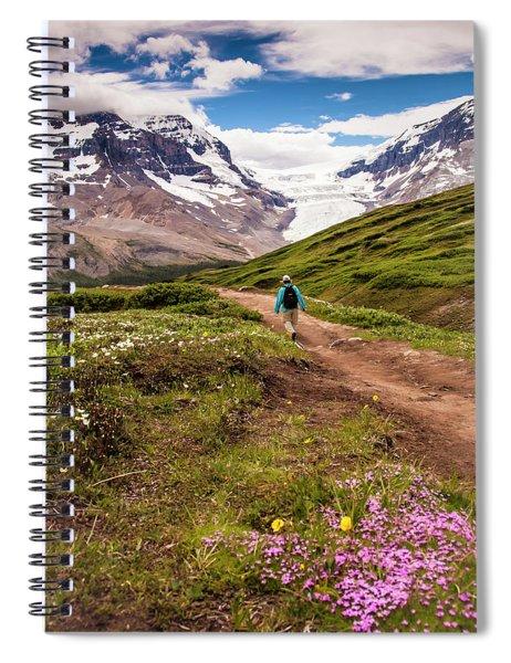 Wilcox Pass Spiral Notebook