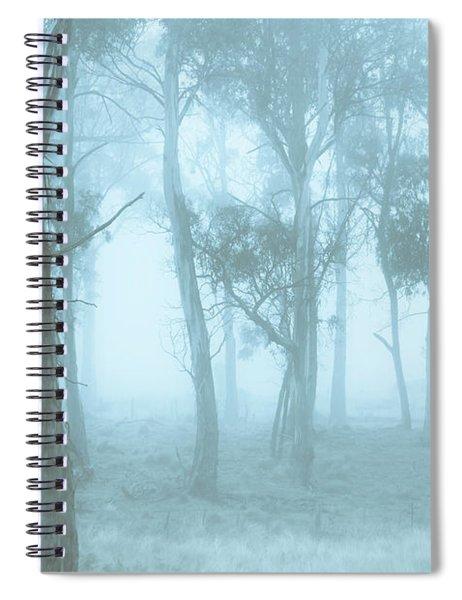 Wild Blue Woodland Spiral Notebook