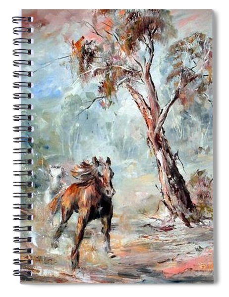 Wild Brumbies Spiral Notebook