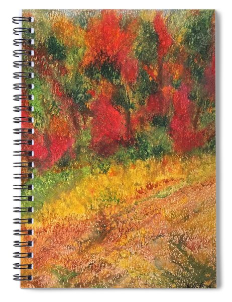 Wild Fire Spiral Notebook