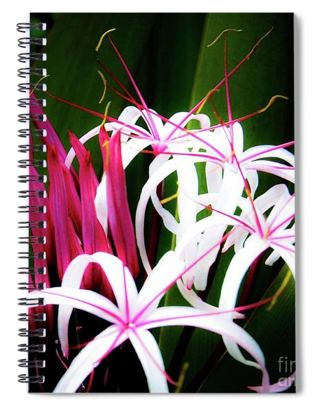 Wild Flowers In Hawaii Spiral Notebook