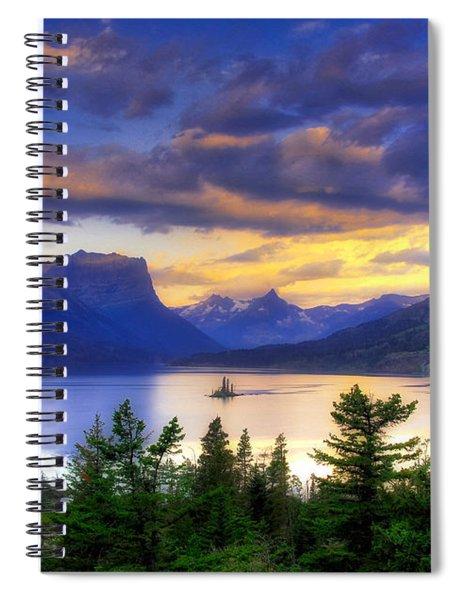 Spiral Notebook featuring the photograph Wild Goose Island by Mel Steinhauer