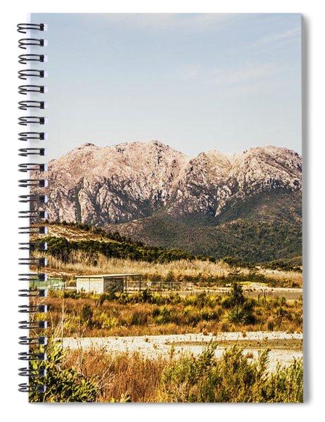 Wild Mountain Range Spiral Notebook