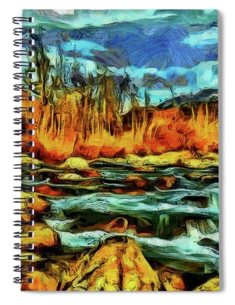 Wild Nature Scenery Spiral Notebook