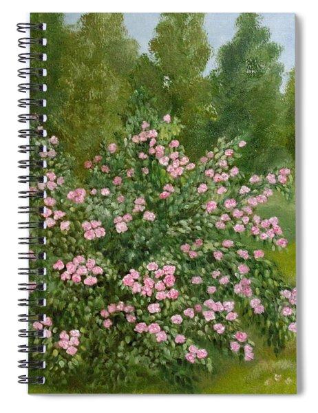 Wild Roses Spiral Notebook