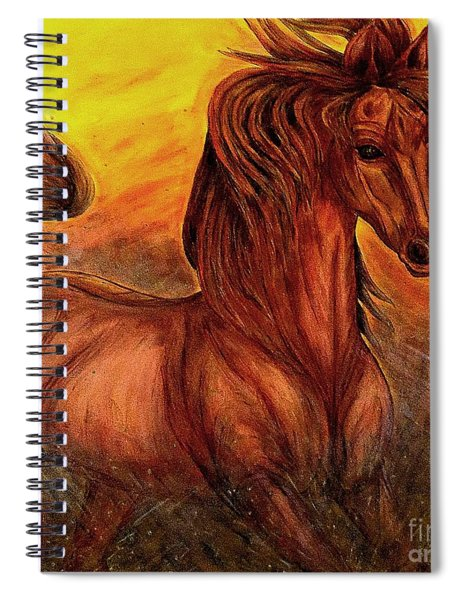 Wild Spirit Spiral Notebook
