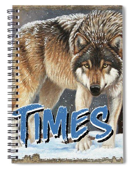 Wild Times Here Spiral Notebook