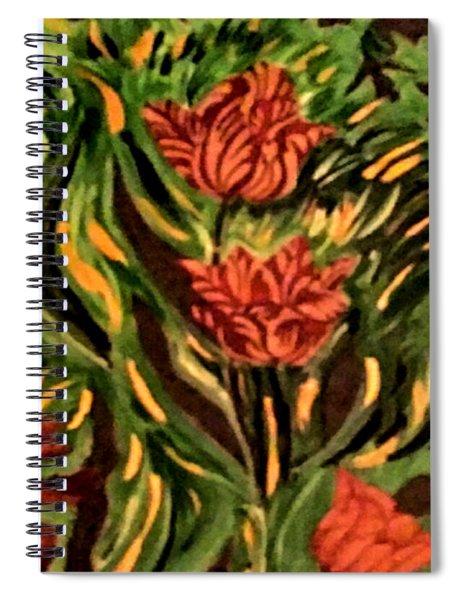 Wild Tulips Spiral Notebook