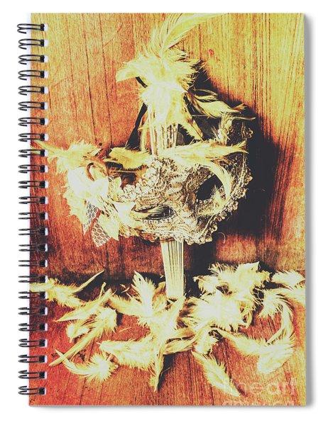 Wild West Saloon Dancer Still Life Spiral Notebook