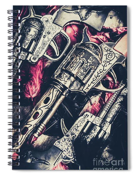 Wild West Weapons  Spiral Notebook
