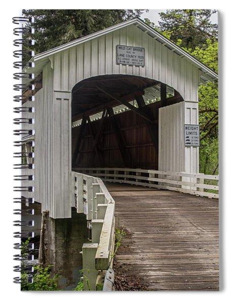 Wildcat Creek Bridge No. 1 Spiral Notebook
