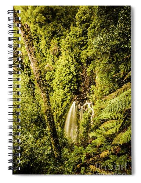Wilderness Falls Spiral Notebook