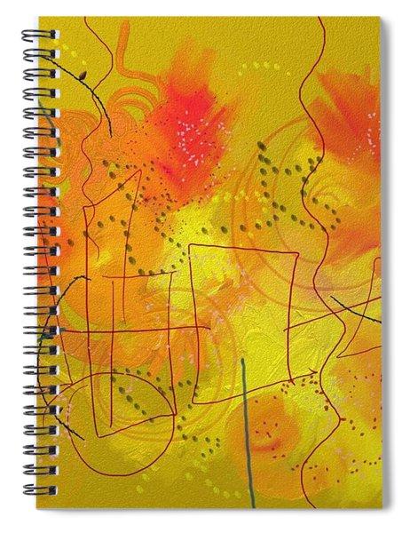 Wildfire Spiral Notebook
