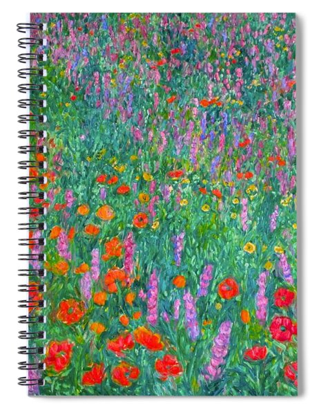 Wildflower Current Spiral Notebook
