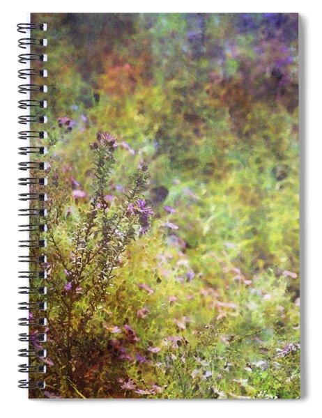 Wildflower Garden Impression 4464 Idp_2 Spiral Notebook