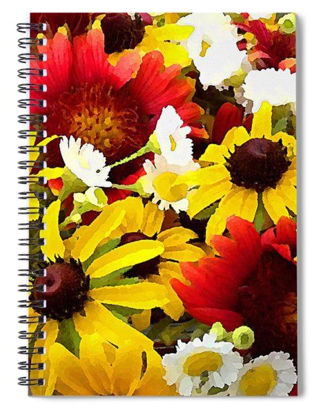 Wildflower Riot Spiral Notebook
