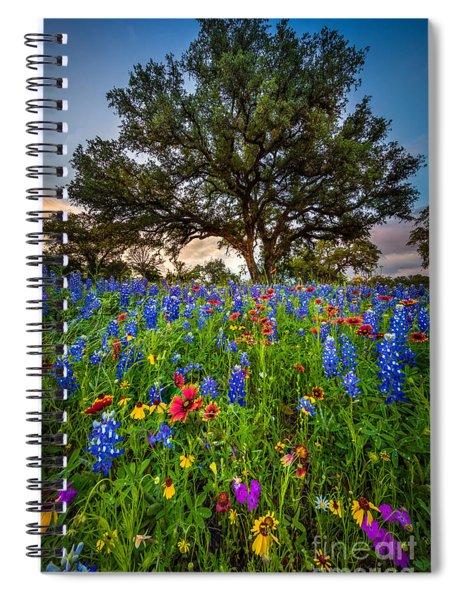 Wildflower Tree Spiral Notebook
